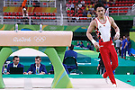 Yusuke Tanaka (JPN), <br /> AUGUST 6, 2016 - Artistic Gymnastics : <br /> Men's Qualification <br /> Pommel Horse <br /> at Rio Olympic Arena <br /> during the Rio 2016 Olympic Games in Rio de Janeiro, Brazil. <br /> (Photo by Sho Tamura/AFLO SPORT)