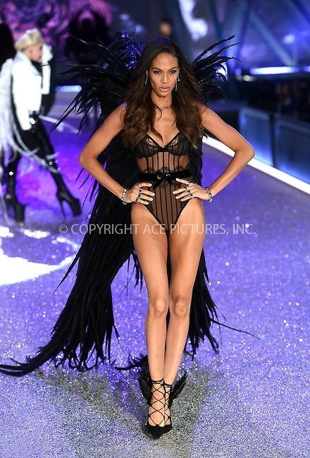 www.acepixs.com<br /> <br /> November 30 2016, New York City<br /> <br /> A model walks the runway during the Victoria's Secret Fashion Show on November 30, 2016 in Paris, France.<br /> <br /> By Line: Alain Benainous/ACE Pictures<br /> <br /> <br /> ACE Pictures Inc<br /> Tel: 6467670430<br /> Email: info@acepixs.com<br /> www.acepixs.com
