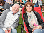 Martin and Gemma Fogerty pictured at Much Ado About Nothing by the Chapterhouse Theatre Company at Oldbridge House. Photo:Colin Bell/pressphotos.ie
