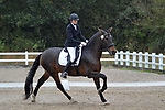 Class 5. Unaffiliated dressage. Brook Farm Training Centre. Essex. UK. 06/10/2018. ~ MANDATORY Credit Garry Bowden/Sportinpictures - NO UNAUTHORISED USE - 07837 394578
