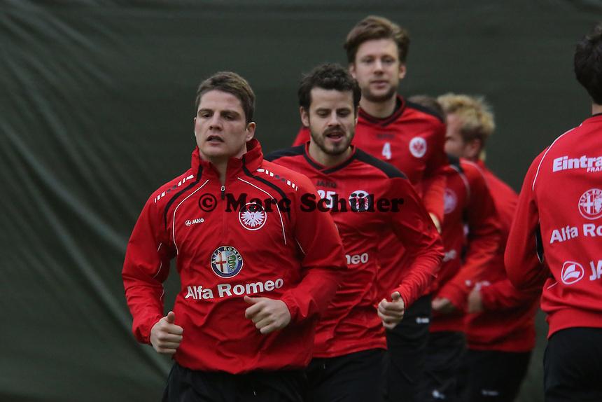Pirmin Schwegler, Tranquillo Barnetta, Marco Russ (Eintracht)