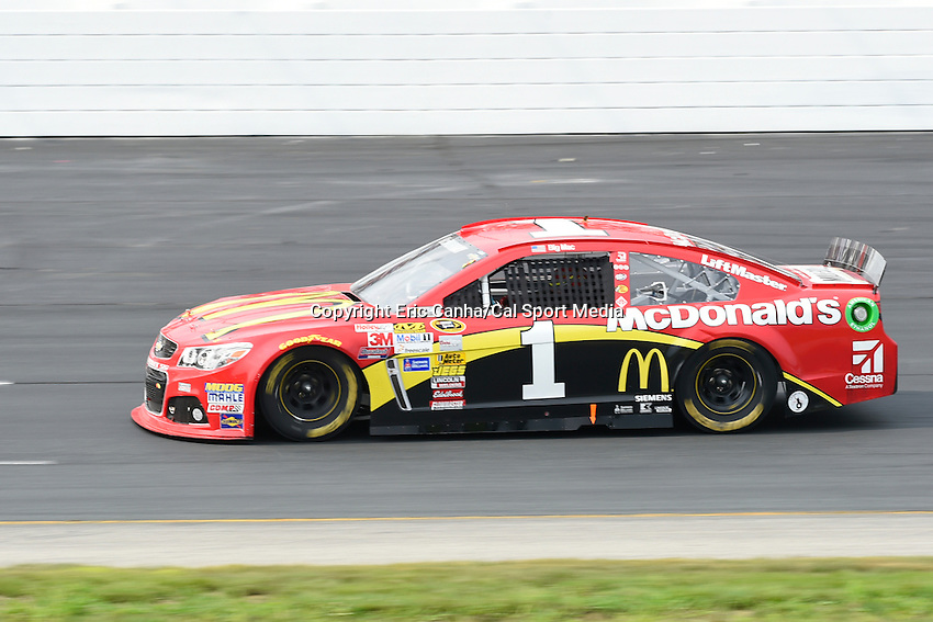 July 13, 2014 - Loudon, New Hampshire, U.S. - Sprint Cup Series driver Jamie McMurray (1) races in the NASCAR Sprint Cup Series Camping World RV 301 race held at the New Hampshire Motor Speedway in Loudon, New Hampshire. Eric Canha/CSM