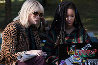 Ocean's 8 (2018)<br /> (Ocean's Eight)<br /> Cate Blanchett &amp; Rihanna<br /> *Filmstill - Editorial Use Only*<br /> CAP/MFS<br /> Image supplied by Capital Pictures