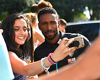 Jermain Defoe of AFC Bournemouth poses for a selfie  during AFC Bournemouth vs Real Betis, Friendly Match Football at the Vitality Stadium on 3rd August 2018