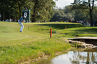 Rory Sabatini (SVK) in action on the 8th hole during the third round of the 76 Open D'Italia, Olgiata Golf Club, Rome, Rome, Italy. 12/10/19.<br /> Picture Stefano Di Maria / Golffile.ie<br /> <br /> All photo usage must carry mandatory copyright credit (© Golffile | Stefano Di Maria)
