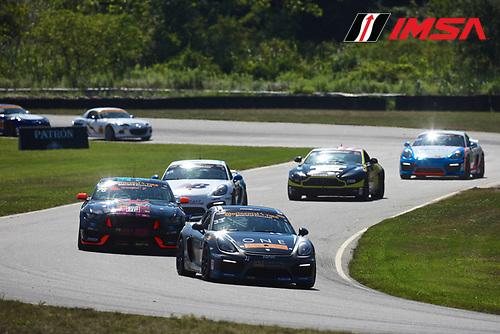 22-23 July, 2016, Lakeville, Connecticut USA<br /> 33, Porsche, Cayman GT4, GS, Daniel Burkett, Marc Miller<br /> &copy;2016, John Thawley<br /> LAT Photo USA