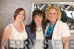 Deirdre Buckly, Ide Moore, and Geraldine Murphy from Killarney pictured at the Kerry Rose Selection at the Earl of Desmond Hotel on Saturday night.