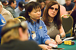First time for Phil Laak and Jennifer Tilly to play at the same table in a poker tournament.