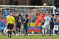 San Jose, CA - Monday July 10, 2017: Andrew Tarbell during a U.S. Open Cup quarterfinal match between the San Jose Earthquakes and the Los Angeles Galaxy at Avaya Stadium.
