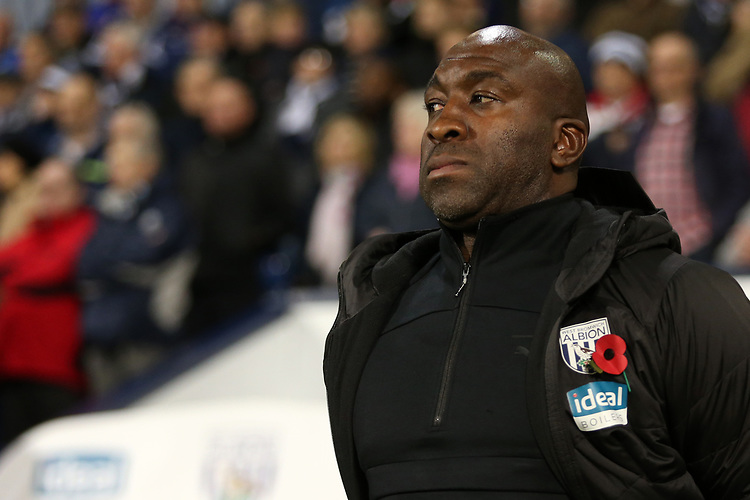 West Bromwich Albion manager Darren Moore <br /> <br /> Photographer David Shipman/CameraSport<br /> <br /> The EFL Sky Bet Championship - West Bromwich Albion v Leeds United - Saturday 10th November 2018 - The Hawthorns - West Bromwich<br /> <br /> World Copyright © 2018 CameraSport. All rights reserved. 43 Linden Ave. Countesthorpe. Leicester. England. LE8 5PG - Tel: +44 (0) 116 277 4147 - admin@camerasport.com - www.camerasport.com
