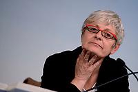 Roma, 24 Marzo 2016<br /> Conferenza stampa dei sindacati al termine dell'incontro straordinario ospitato a Palazzo Chigi tra le Parti sociali europee e le Istituzioni Ue.<br /> Annamaria Furlan segretario CISL.