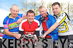 Enjoying the Killorglin Cycling Club leisure cycle in Killorglin on Sunday were Paddy O'Connor, Donie O'Sullivan, David Flannery and Michael Moriarty, Dingle Cycling Club.
