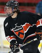 Michael Zajac (Princeton - 16) - The Harvard University Crimson defeated the Princeton University Tigers 3-2 on Friday, January 31, 2014, at the Bright-Landry Hockey Center in Cambridge, Massachusetts.