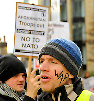 14/11/09 Edinburgh war protest