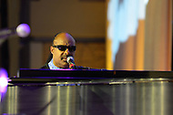 August 24, 2011 (Washington, DC)  Stevie Wonder performs at the Honoring Global Leaders for Peace Gala at the Washington Convention Center.  The event kicked off week-long activities leading up to the dedication of the Martin Luther King Jr. Memorial on Sunday, August, 28, 2011.  (Photo by Don Baxter/Media Images International)