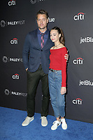 """LOS ANGELES - MAR 24:  Justin Hartley, Isabella Hartley at the PaleyFest - """"This is Us"""" Event at the Dolby Theater on March 24, 2019 in Los Angeles, CA"""