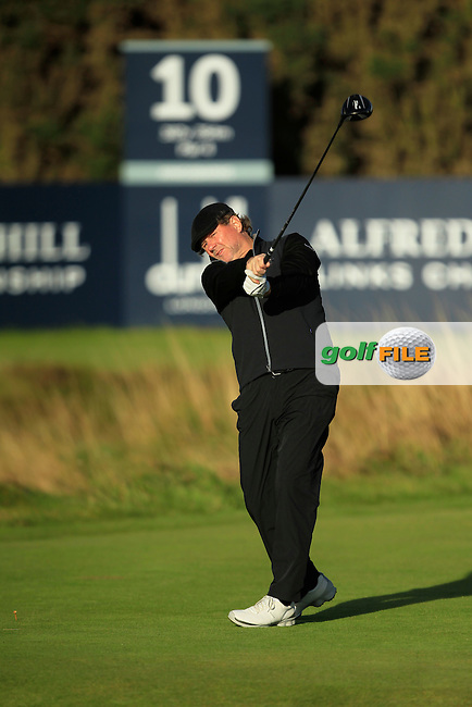 Sean Summers during Round 1of the Alfred Dunhill Links Championship at Kingsbarns Golf Club on Thursday 26th September 2013.<br /> Picture:  Thos Caffrey / www.golffile.ie