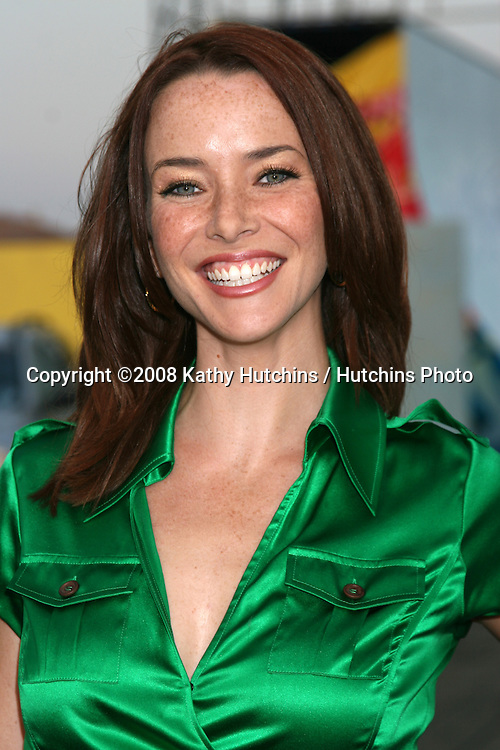 Annie Wersching   arriving at the Fox TV TCA Summer 08 Party at the Santa Monica Pier in Santa Monica, CA on.July 14, 2008.©2008 Kathy Hutchins / Hutchins Photo .