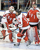 (Merriam, York) Patrick Cullen (RPI - 19) - The visiting Rensselaer Polytechnic Institute Engineers tied their host, the Northeastern University Huskies, 2-2 (OT) on Friday, October 15, 2010, at Matthews Arena in Boston, MA.