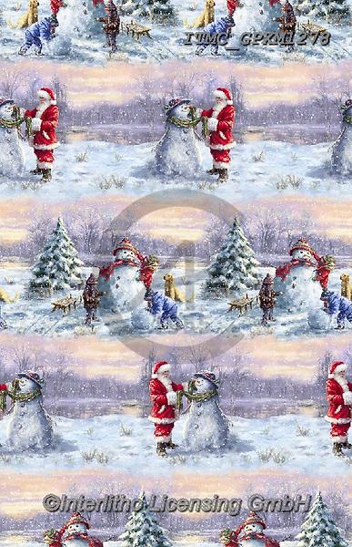 Marcello, GIFT WRAPS, GESCHENKPAPIER, PAPEL DE REGALO, Christmas Santa, Snowman, Weihnachtsmänner, Schneemänner, Papá Noel, muñecos de nieve, paintings+++++,ITMCGPXM1278,#gp#,#x#
