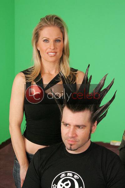 Diane Klimaszewski with Phil X of Powder<br />