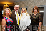 Elizabeth and Jimmy O'Sullivan, Marlyn McCarthy and Kay O'Carroll attending the Ballyduff GAA Social in the Rose Hotel on Saturday night last.