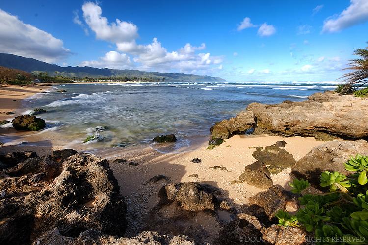 Taken from Haleiwa Beach Park.