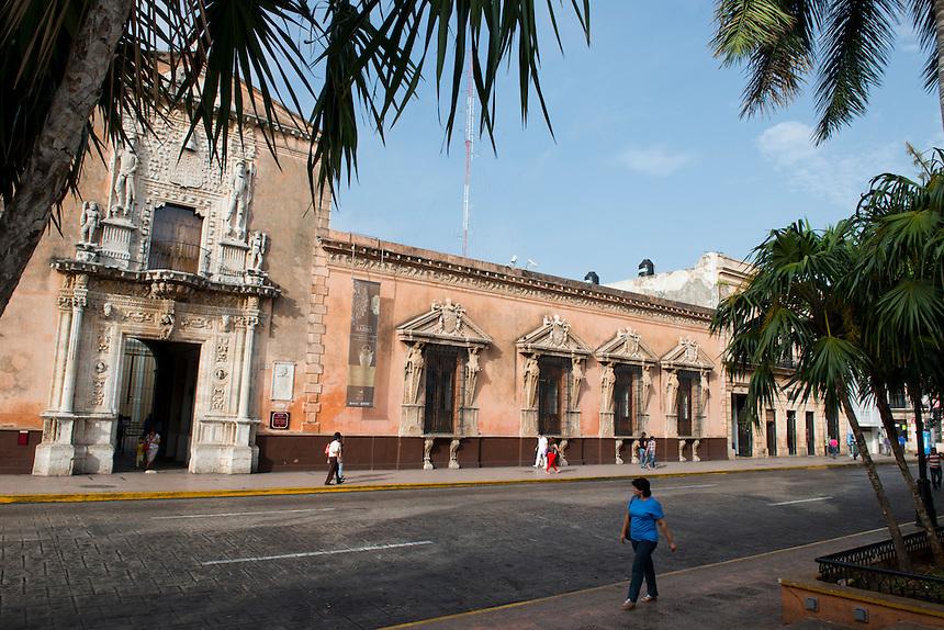 Casa de Montejo. Merida, Yucatan, Mexico