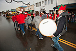 Ione Business and Community Association hosts the annual Main Street Christmas parade featuring Ione Jr. High School's marching band in the Mother Lode of Calif