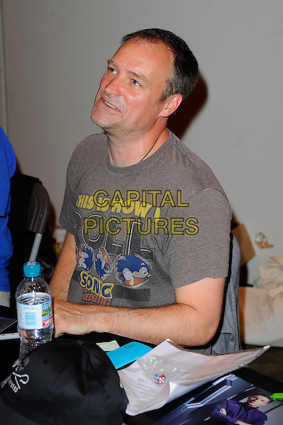 LONDON, ENGLAND - JULY 12: David Hewlett attending London Film and Comic Con 2014 at Earls Court on July 12, 2014 in London, England.<br /> CAP/MAR<br /> &copy; Martin Harris/Capital Pictures