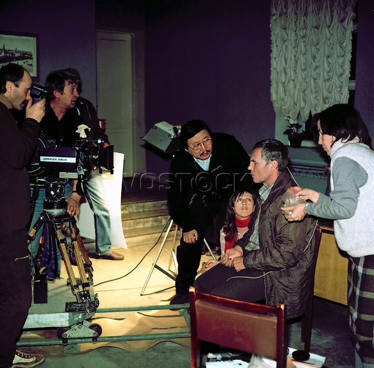 Александр Атаевич Итыгилов - cоветский кинорежиссёр, оператор, сценарист. Alexander Itygilov - soviet film director, cameraman, screenwriter.
