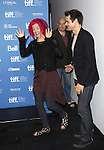 Directors Tom Tykwer, Lana Wachowski and Andy Wachowski attending the The 2012 Toronto International Film Festival.Photo Call for 'Cloud Atlas' at the TIFF Bell Lightbox in Toronto on 9/9/2012