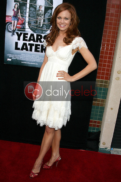 I14414CHW<br /> 61st PrimeTime Emmy Awards Nominations Announcement By The Academy Of Television Arts & Sciences   <br /> Leonard H. Goldenson Theatre, North Hollywood, CA<br /> 07/16/09                       <br /> RACHEL BOSTON <br /> Photo: Clinton H. Wallace-Photomundo-Globe Photos Inc ©2009