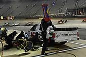 #16: Brett Moffitt, Hattori Racing Enterprises, Toyota Tundra Otics USA Inc./Toyota Tsusho, makes a pit stop.