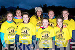 Delighted they finished the Darkness into Light 5km in aid of Pieta House in Killarney on Saturday morning l-r: Michelle Brosnan, Ciara Brosnan, Niamh Cronin all Gneeveguilla, Teresa Greaney Clohane, Chloe Fitzgerald Gneeveguilla, Sylvia Kerin Brandon, Ava O'Leary and Sinead O'Keeffe Gneeveguilla