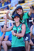 Women's cup final between Manawatu and Waikato on day two of the 2018 Bayleys National Sevens at Tauranga Domain in Tauranga, New Zealand on Sunday, 16 December 2018. Photo: Dave Lintott / lintottphoto.co.nz