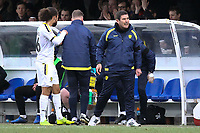 Burton Albion manager Nigel Clough during AFC Wimbledon vs Burton Albion, Sky Bet EFL League 1 Football at the Cherry Red Records Stadium on 9th February 2019
