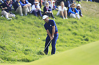 Francesco Molinari (Team Europe) on the 9th fairway during Friday Fourball at the Ryder Cup, Le Golf National, Iles-de-France, France. 28/09/2018.<br /> Picture Thos Caffrey / Golffile.ie<br /> <br /> All photo usage must carry mandatory copyright credit (© Golffile | Thos Caffrey)