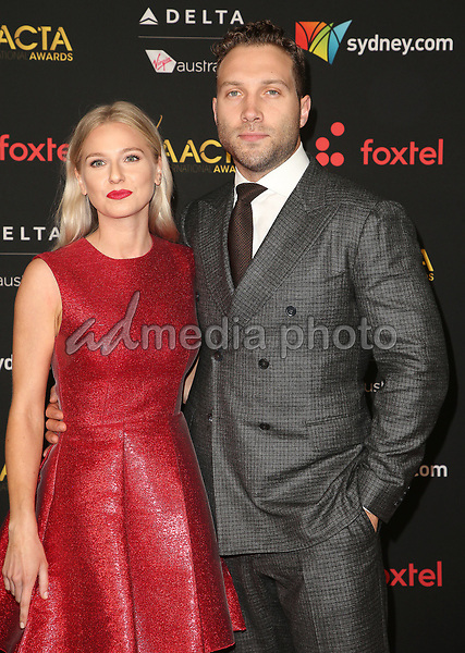 05 January 2018 - Hollywood, California - Mecki Dent, Jai Courtney. 7th AACTA International Awards held at Avalon Hollywood. Photo Credit: F. Sadou/AdMedia