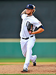9 March 2011: Detroit Tigers' pitcher Ryan Perry on the mound during a game against the Philadelphia Phillies at Joker Marchant Stadium in Lakeland, Florida. The Phillies defeated the Tigers 5-3 in Grapefruit League play. Mandatory Credit: Ed Wolfstein Photo