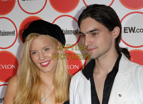 MAGGIE GRACE & BROTHER.attends The Entertainment Weekly Pre-Emmy Party held at Republic in West Hollywood, California, USA,.August 26, 2006.portrait headshot family siblings blackhat.Ref: DVS.www.capitalpictures.com.sales@capitalpictures.com.©Debbie VanStory/Capital Pictures