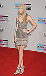 LOS ANGELES, CA. - November 21: Taylor Swift arrives at the 2010 American Music Awards held at Nokia Theatre L.A. Live on November 21, 2010 in Los Angeles, California.