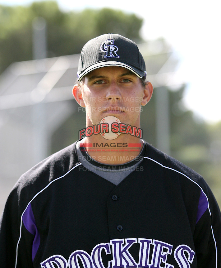 Christian Friedrich / Colorado Rockies 2008 Instructional League..Photo by:  Bill Mitchell/Four Seam Images