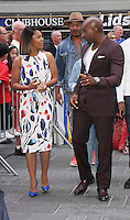NEW YORK, NY-September 05: Regina Hall, Morris Chestnut at Good Morning America to talk about new movie When the Bough Breaks in New York. NY September 05, 2016. Credit:RW/MediaPunch