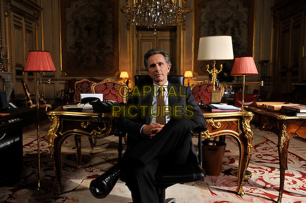 Thierry Lhermitte<br /> in The French Minister (2013) <br /> (Quai d'Orsay) <br /> *Filmstill - Editorial Use Only*<br /> CAP/FB<br /> Image supplied by Capital Pictures