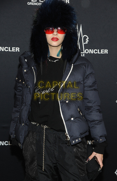 NEW YORK, NY - FEBRUARY 14: Sita Abellan attends the Moncler Grenoble fashion show during 2017 New York Fashion Week at The Hammerstein Ballroom on February 14, 2017 in New York City.   <br /> CAP/MPI/JP<br /> &copy;JP/MPI/Capital Pictures