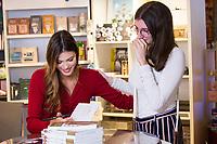 """EXCLUSIF : Iris Mittenaere lors de la dédicace de son livre """" Toujours y croire """", à la librairie Filigranes, à Bruxelles.<br /> Belgique, Bruxelles, 12 décembre 2018<br /> Iris Mittenaere , French model, television presenter, and beauty pageant titleholder who was crowned Miss Universe 2016, during a booksigning of ' Toujours y croire ', at Filigranes in Brussels.<br /> Belgium, Brussels, 12 December 2018."""