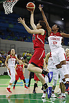 Ramu Tokashiki (JPN), AUGUST 9, 2016 - Basketball : <br /> Women's Preliminary Round <br /> between Japan 62-76 Turkey <br /> at Youth Arena <br /> during the Rio 2016 Olympic Games in Rio de Janeiro, Brazil. <br /> (Photo by Yusuke Nakanishi/AFLO SPORT)