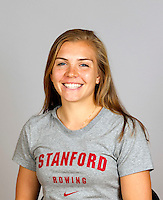 Jessica Hatch with Stanford women's rowing ltw team