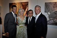 Alain Bernard, Eileen Guggenheim, Bob Colacello, David Kratz, New York Academy of Art Tribeca Ball